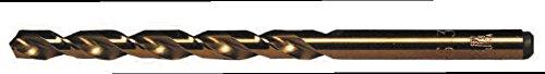 DEEP HOLE TiN JOB 118 HSS M42 COBALT DIN 338 Twist Drill 135 Split Point M-42 Cobalt High Speed Steel 30 Pack