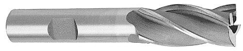 Drill America BRCF318 HSS 4 Flute Single End Mill 12 x 12