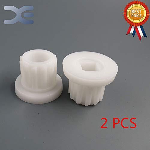 Star-Shopinc - 2Per Lot Meat Grinder Parts Plastic Gear Plastic Sleeve Screw For Bork Cameron