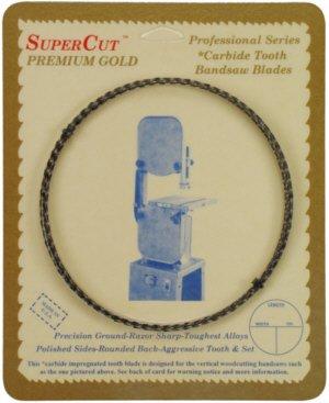 SuperCut B105G12H3 Carbide Impregnated Bandsaw Blade 105 Long - 12 Width 3 Hook Tooth