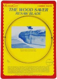 SuperCut B1315S1T3 WoodSaver Resaw Bandsaw Blades 131-12 Long - 1 Width 3 Tooth 0035 Kerf