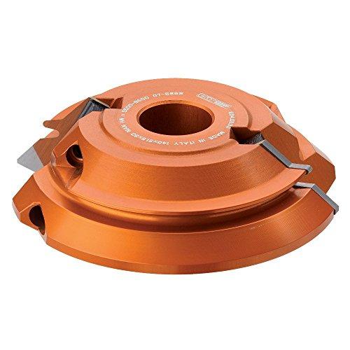 CMT 69401131 45 degree Lock Miter Cutter Head 5-12-Inch Diameter 1-14-Inch Bore