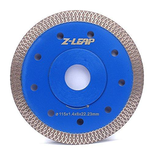 Z-LEAP 45 Inch Super Thin Rim Turbo Diamond Saw Blade for Cutting Granite Marble Ceramics Porcelain Tiles