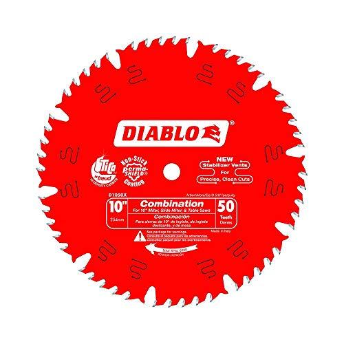 Diablo 10 in x 50-Teeth Combination Saw Blade 25-Pack
