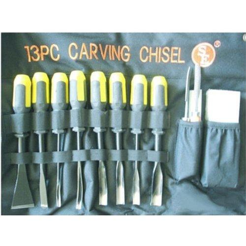 SE - Wood Carving Chisel Set - Professional Quality 13 Pc