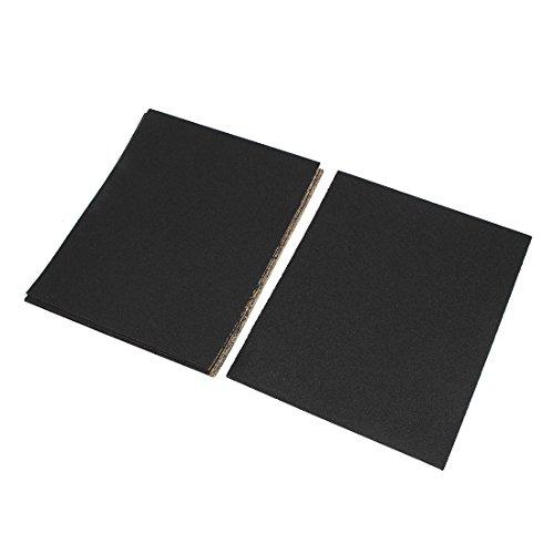uxcell 28cm x 23cm Silicone Carbide Wet Dry Abrasive Sandpapers 80 Grit 20pcs