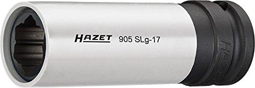 Hazet 905SLG-17 Size 17 SPECIAL-Profile 12 Square Impact Socket