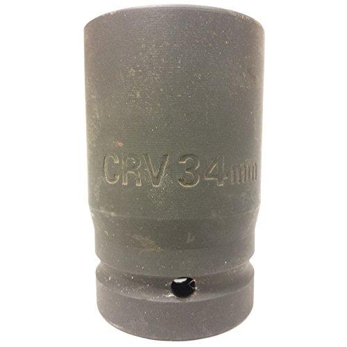 1 One-Inch Drive Deep Impact Socket - 34mm
