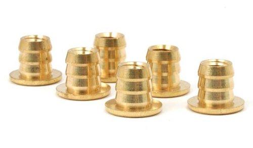 Knock-In Brass Stem Sleeve Nut 14-20 x 11 Set of 6
