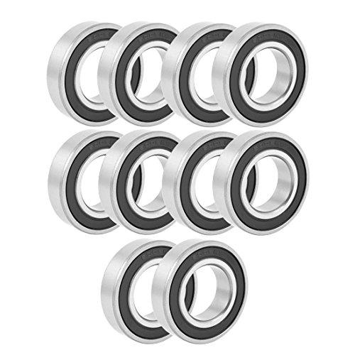 Deep Groove Bearing - TOOGOOR Sealing Deep Groove Radial Ball Bearing 6005RS 25mmx47mmx12mm 10PCS