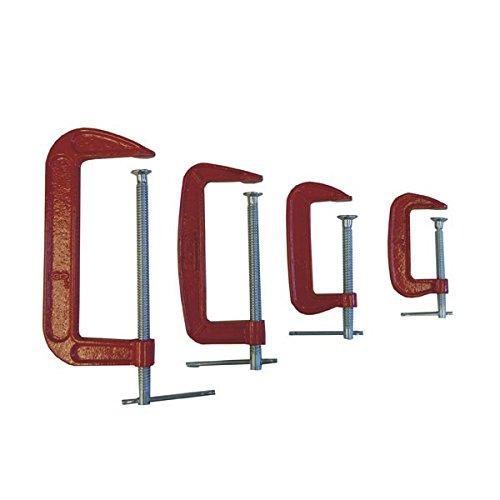 4-pc C-Clamp Set 3 4 6 8 CLC-4