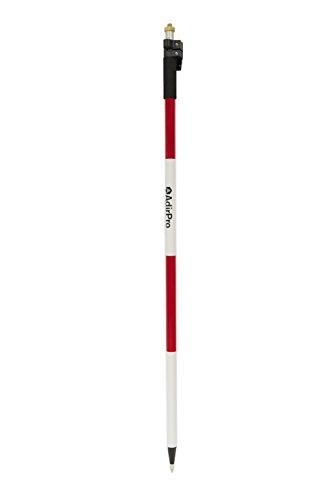 AdirPro Aluminum Prism Pole with Quick Release Clamp 85 25m