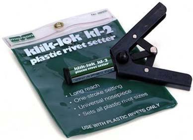 M48005 MARSON MANUAL TOOL MARSON KLIK-LOK KL2 PLASTIC RIVET SETTER TOOL-LONG STROKE 1 PK