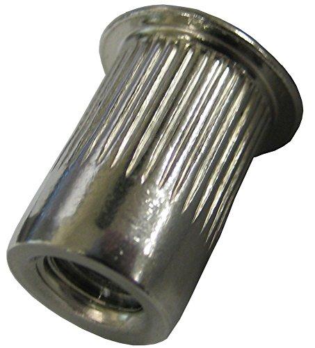 Q&R 30pcs Stainless Steel Rivet Nut Rivnut Insert Nutsert 10-24 14-16 516-18