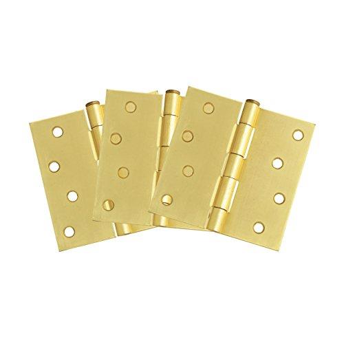 Design House 181636 3-Pack Hinge 4 Satin Brass