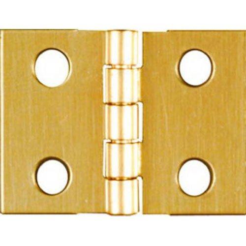 NATIONALSPECTRUM BRANDS HHI N211-326 34 x 1-Inch Brass Hinge 4-Pack