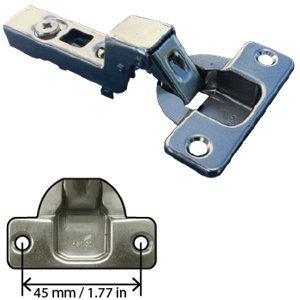 hettich 9046807 110 Degree Inset Door Hinge Screw On Door Flush With Cabinet