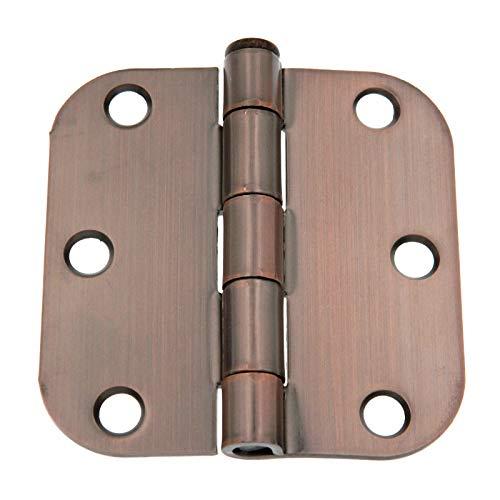 Warwick 3 Pack 3 Door Hinges 58 Radius Corner Bronze DA3010BZ