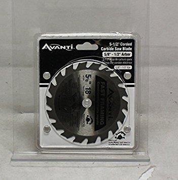 Avanti 5 12 In x 18 Tooth Fast Framing Saw Blade A05518X