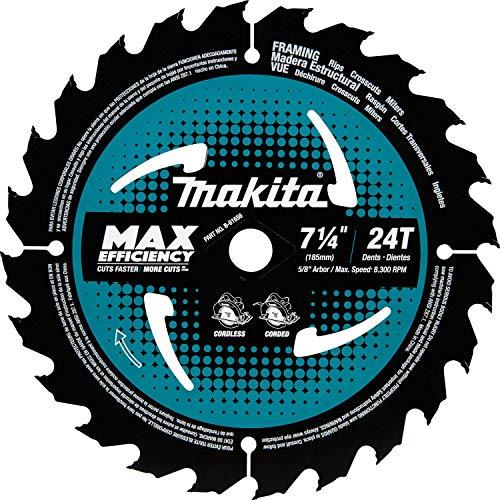 Makita B-61656 7-14 24T Carbide-Tipped Max Efficiency Circular Saw Blade Framing