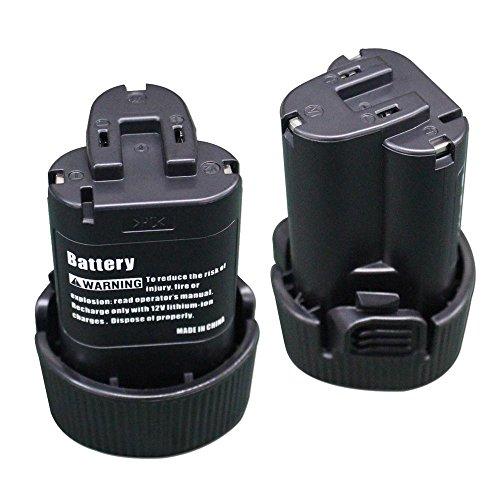 2 Packs 108V 20Ah Li-ion Replacement battery for Makita BL1013 BL1014 194550-6 194551-4 195332-9