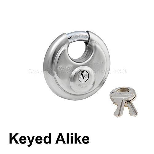 Master Stainless Steel Lock - Keyed Alike Locks 40KA