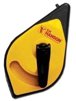 CH Hanson 11009 100 Chalk Line Reel with 35x Faster Rewind