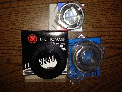 Front Load W10253866 Washing Machine Bearing Seal Repair Kit HE3 or Duet