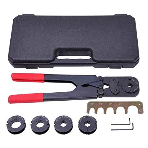PEX Crimper Set 5 in 1 Crimping Tools Kit for 38 12 58 34 1