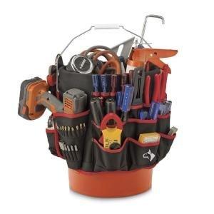 Husky Bucket Tool Organizer 46 Pocket Bucket Jockey Bucket Tool Bag