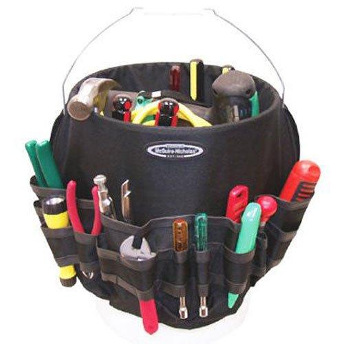 McGuire Nicholas 22054 Bucket Pro 54 Pocket Bucket Tool Organizer Colors may vary