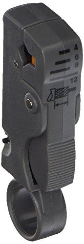 Platinum Tools 15030C 2 Level Coax Stripper for RG58596266 Quad Clamshell