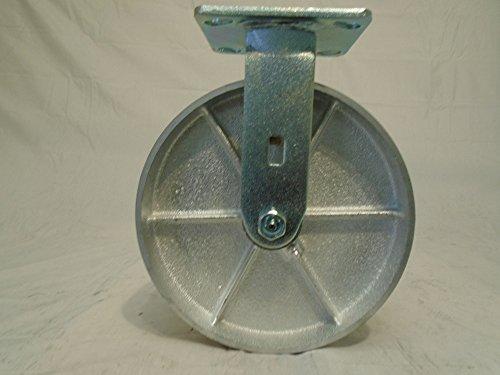 8 X 2 Rigid Caster Semi-steel Wheel 1400 Lbs Each Heavy Duty - Tool Box