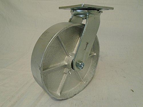 8 X 2 Swivel Caster Semi-steel Wheel 1400 Lbs Heavy Duty - Tool Box