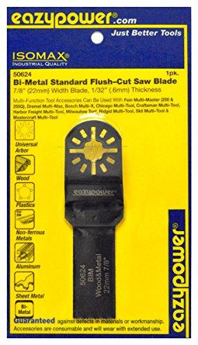 Eazy Power 50624 Oscillating Bi-Metal Flush Cut Saw blade 22mm