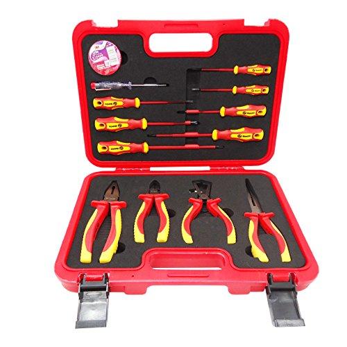 RUWOO Z22013 13-Piece1000V VDE Insulated Tools Set