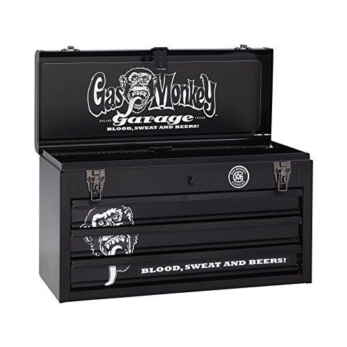Gas Monkey Garage 3-Drawer Metal Portable Tool Chest 205
