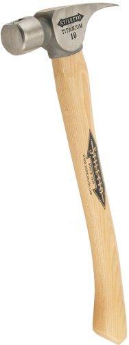 Stiletto FH10-C 10-Ounce Titanium Finish Hammer