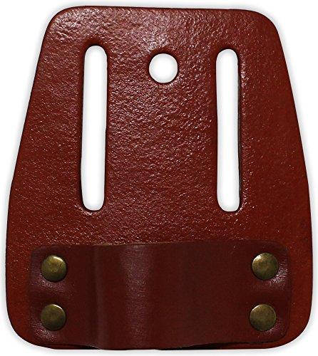 Hawk 4-12 X 4 Inch Belt-Worn Leather Hammer Holder With Rivet Reinforcement