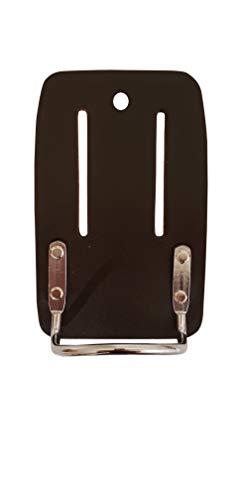 LAUTUS Leather Heavy Duty Steel Loop Hammer Holder