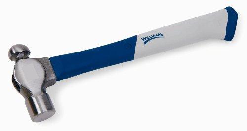Williams 20543 2-Ounce Ball Pein Fiberglass Handle Hammer