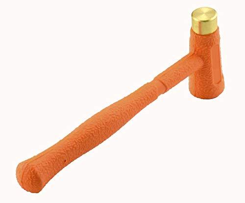 Dead Blow Hammer Multi Purpose Dual-Face Hammer BrassAbs Head Hammer 12oz