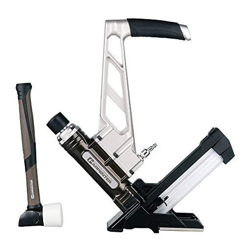 Carpenter Air Tools CFL5016 7 Year Warranty - Carpenter Pneumatic 3-In1 Flooring Nailer Stapler
